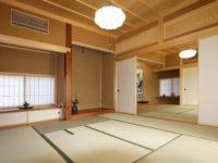 大沢木材の和室