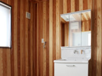 新築二世帯住宅 洗面